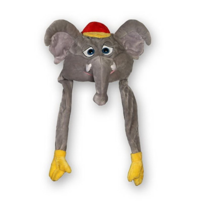 Plüsch Mütze Eurofant