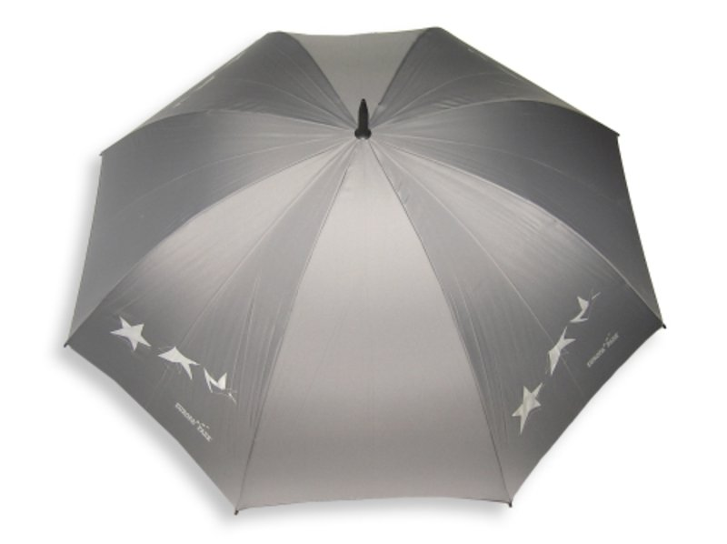 Regenschirm grau Flying Stars
