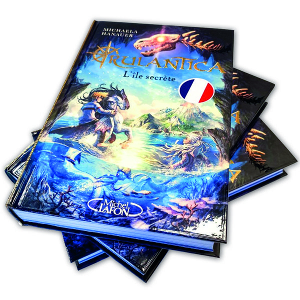 Book Rulantica - L\'île secrète (French)