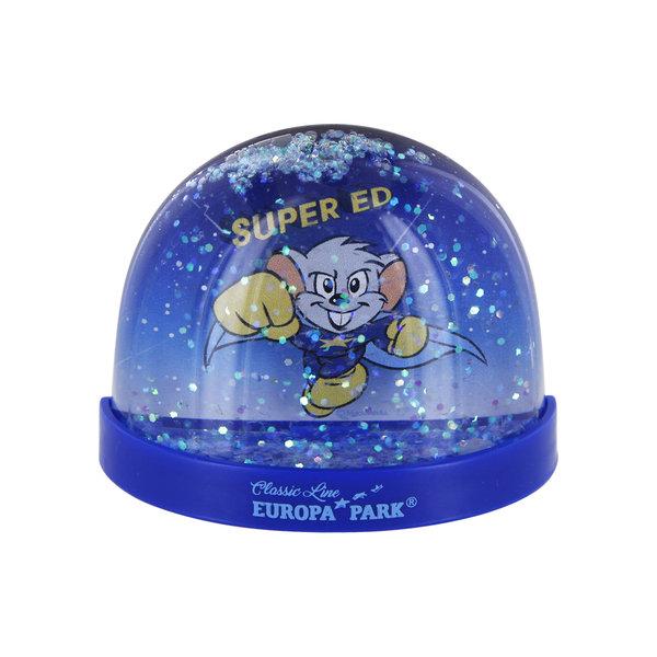 Boule à neige magnétique Edda Licorne & Super Ed