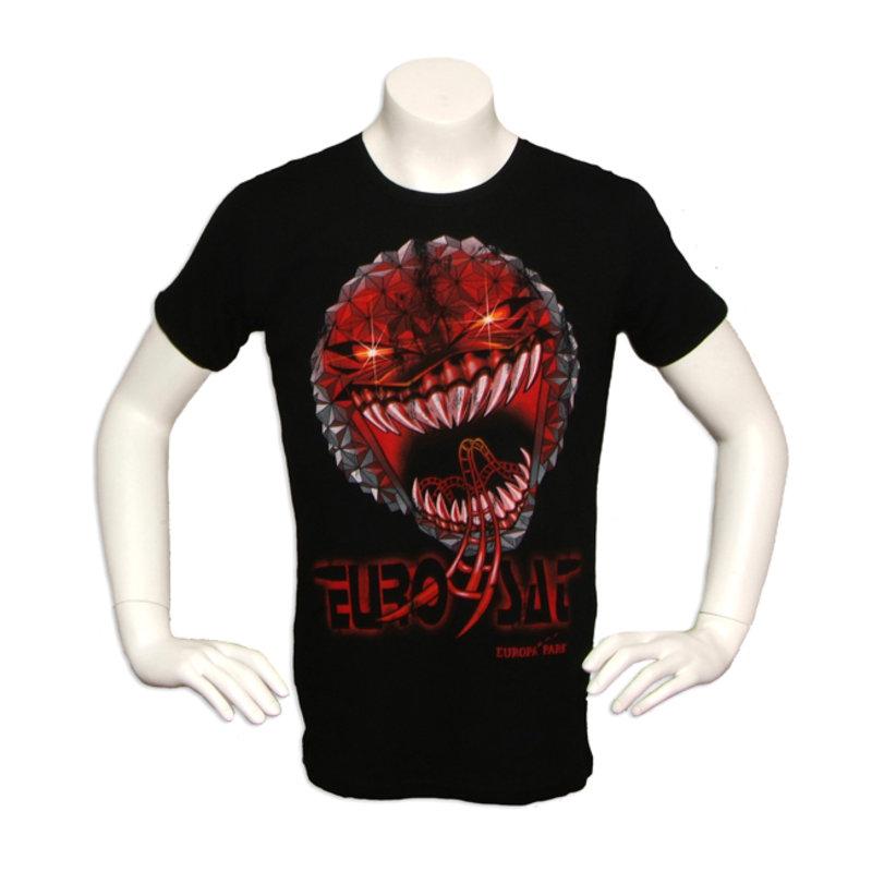 T-Shirt schwarz Eurosat