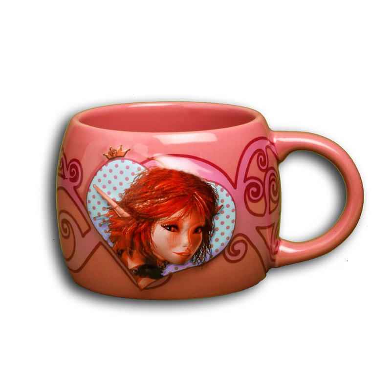 Tasse pink Selenia
