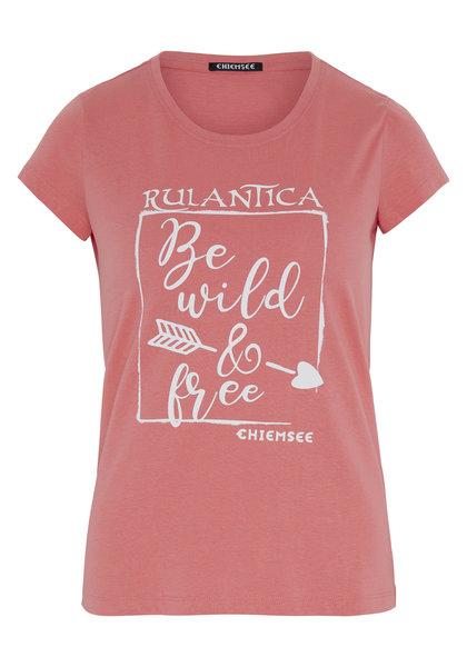 T-shirt femme RULANTICA rose