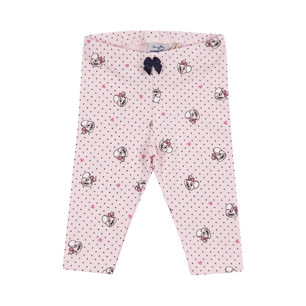 Baby Leggings pink and dots Edda