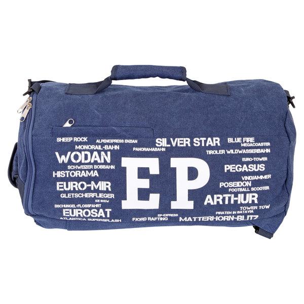 Tasche Canvas blau Europa-Park Edition