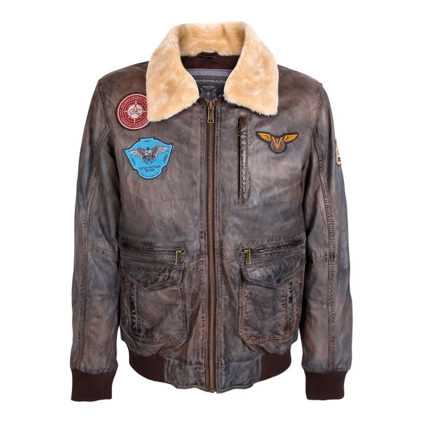 Leather Jacket ACE/Voletarium