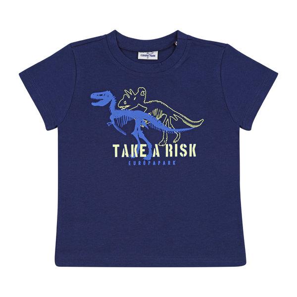 Boy\'s T-Shirt blue navy Dinosaur