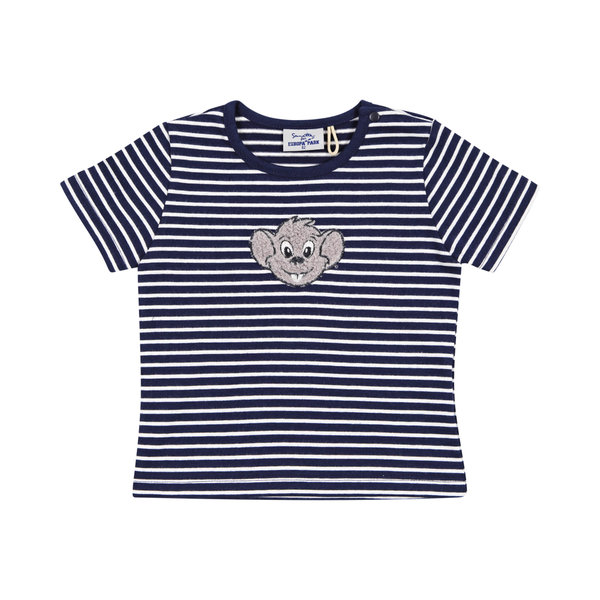 Baby t-shirt stripes navy Ed