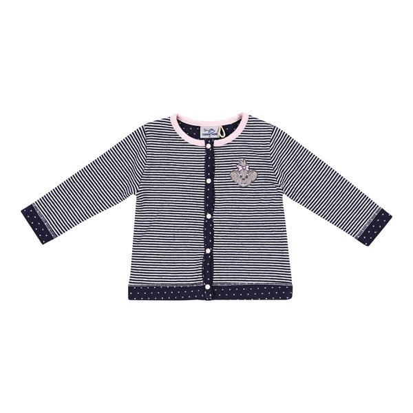 Baby Sweat Jacket blue navy stripes Edda