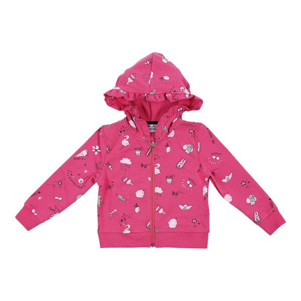 Mädchen Sweat Jacke rosa