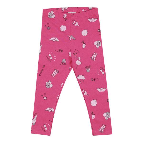 Mädchen Leggings rosa