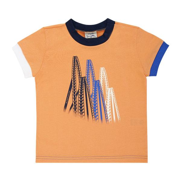 T-Shirt Jungen orange Coaster
