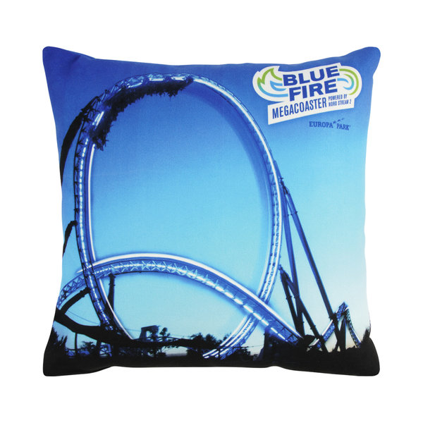 Cushion Blue Fire Megacoaster