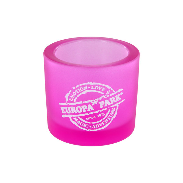Tealight glass Europa-Park stamp