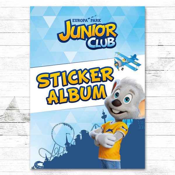 Album à stickers Europa-Park JUNIOR CLUB