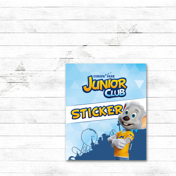 Stickers collector Europa-Park JUNIOR CLUB