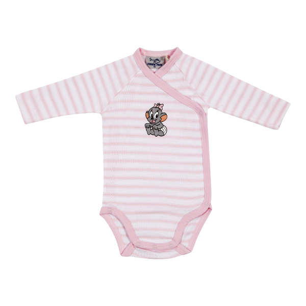 "Baby body long-sleeved pink ""Edda"""