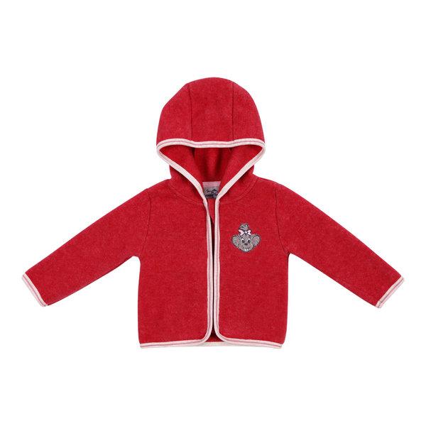 Baby\'s fleece jacket in red Edda