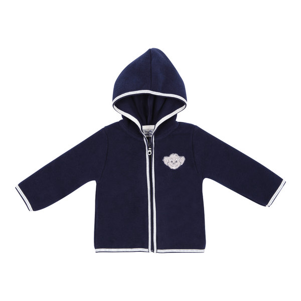 "Baby\'s fleece jacket blue navy ""Ed"""
