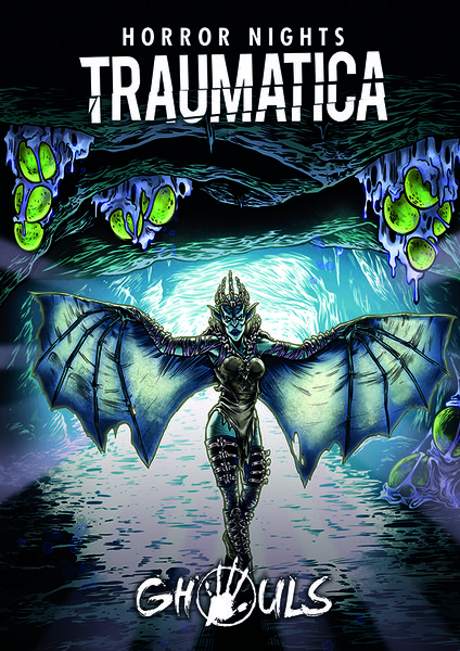 """Poster Traumatica """"Ghouls"""""""