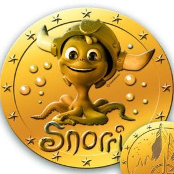Pièce de monnaie Snorri
