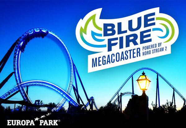 Magnet Blue Fire