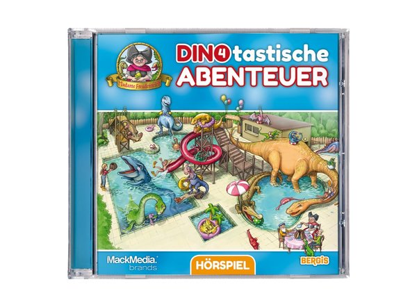 """CD Hörspiel Madame Freudenreich """"Dinotastische Abenteuer 4"""""""