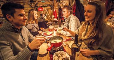 Käsefondue - Erdinger Hütte
