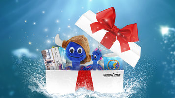 Packages with gift card