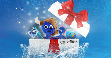 Packages with Rulantica gift card
